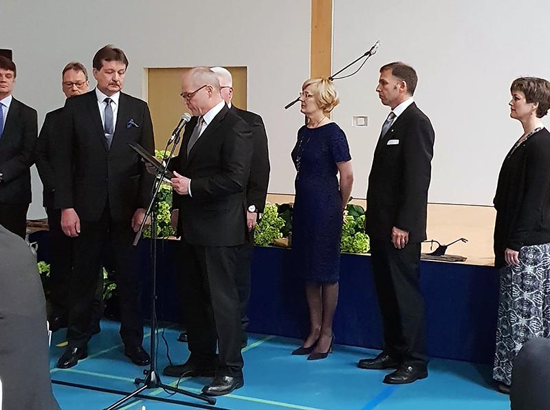 Jarmo Mäntyharjulle maanviljelysneuvoksen arvonimi